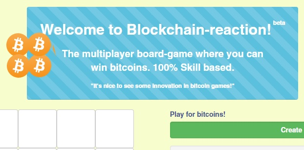 Multiplayer skill-based board game - Blockchain-reaction